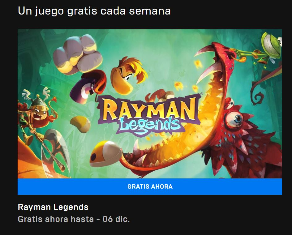 Rayman Legends TOTALMENTE GRATIS aquí