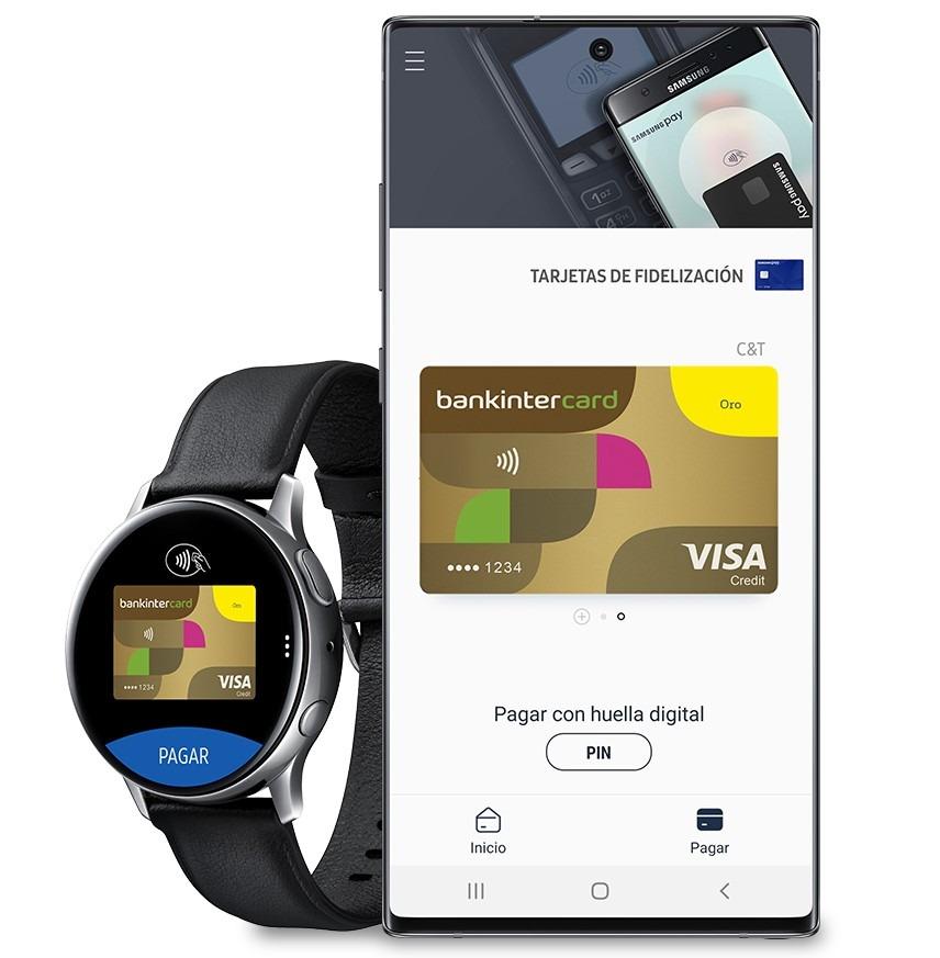 Bankinter se incorpora al servicio de Samsung Pay