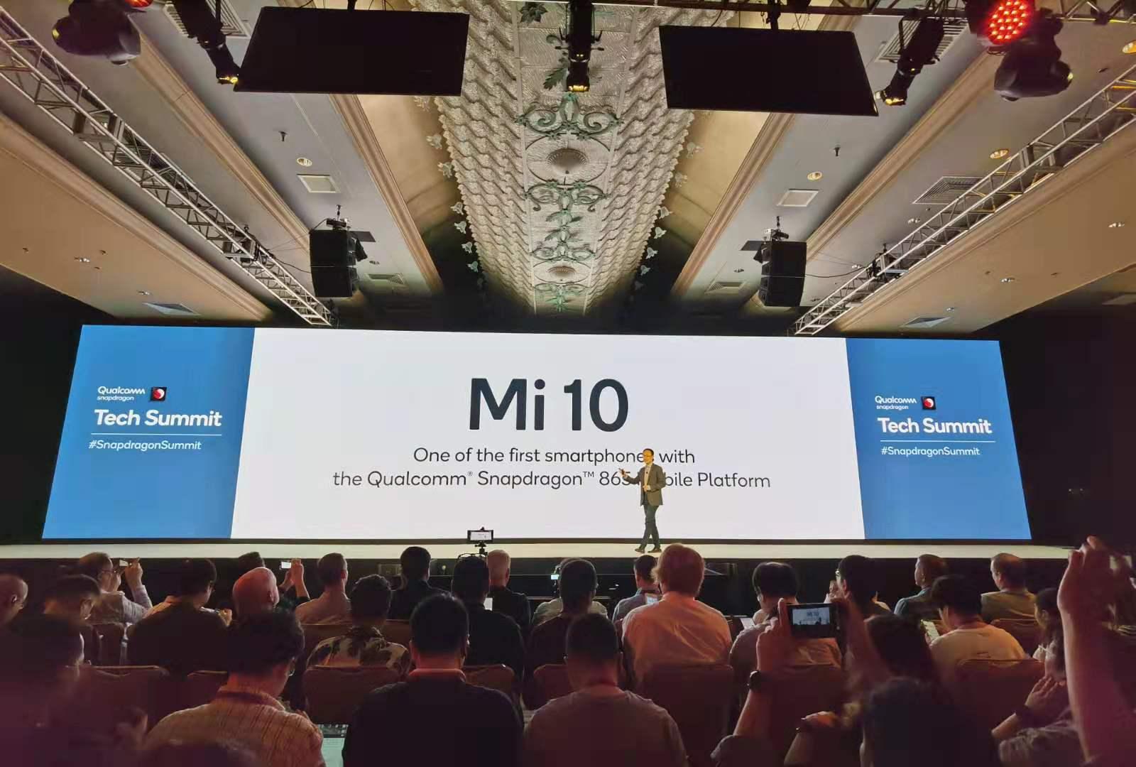 Xiaomi MI 10 confirmado con Snapdragon 865