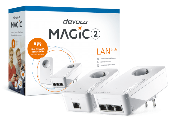 devolo Magic 2 LAN triple el Powerline más rápido