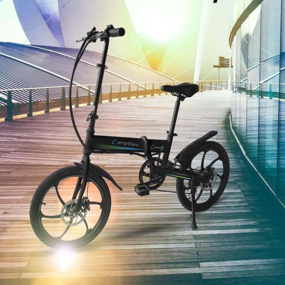 smartGyro eBike Crosscity, hasta 50 Km con una sola carga