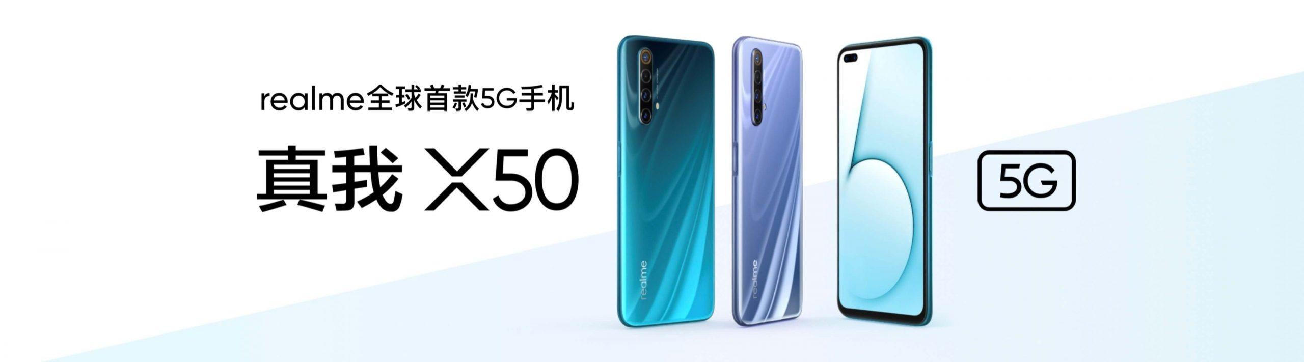 realme X50 – el primer smartphone 5G de realme