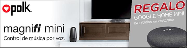 Google Home Mini GRATIS con Polk Magnifi Mini