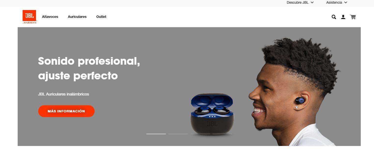 JBL 100 millones de auriculares vendidos y nueva web