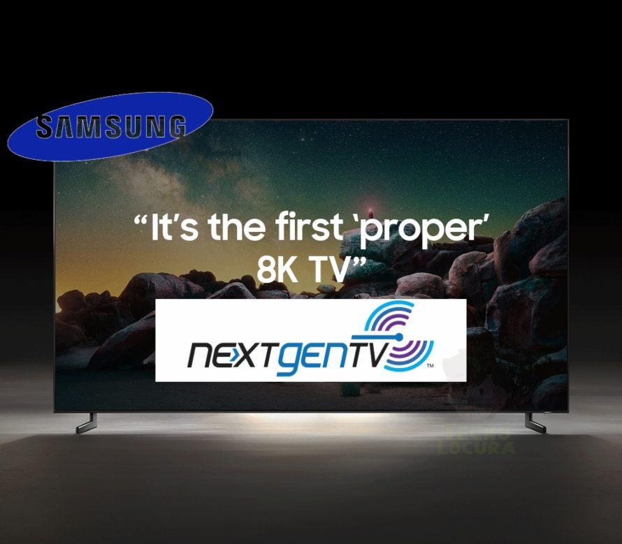Samsung incorpora NEXTGEN TV a su gama QLED 8K