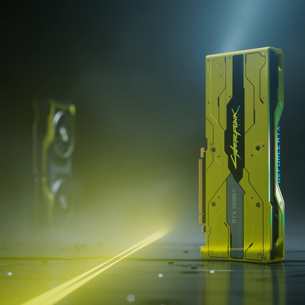GeForce RTX 2080 Ti Cyberpunk 2077 Edition 200 unidades a SORTEO