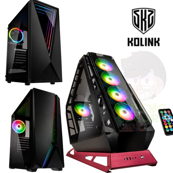 Kolink lanza en España sus nuevas cajas de PC - tecnolocura