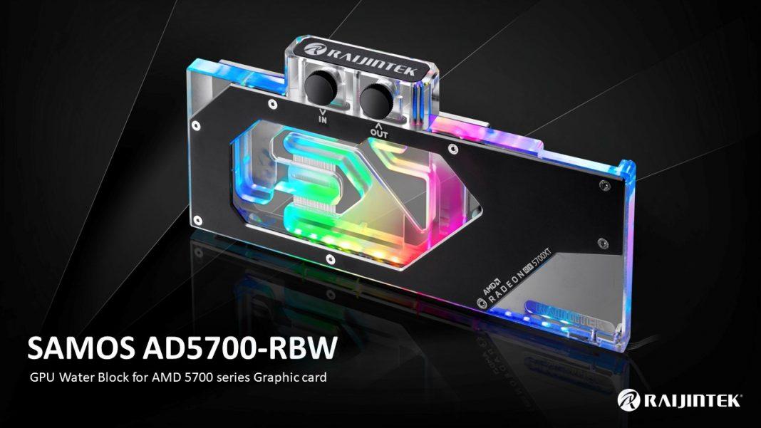 Raijintek SAMOS, bloque top para AMD Radeon RX 5700