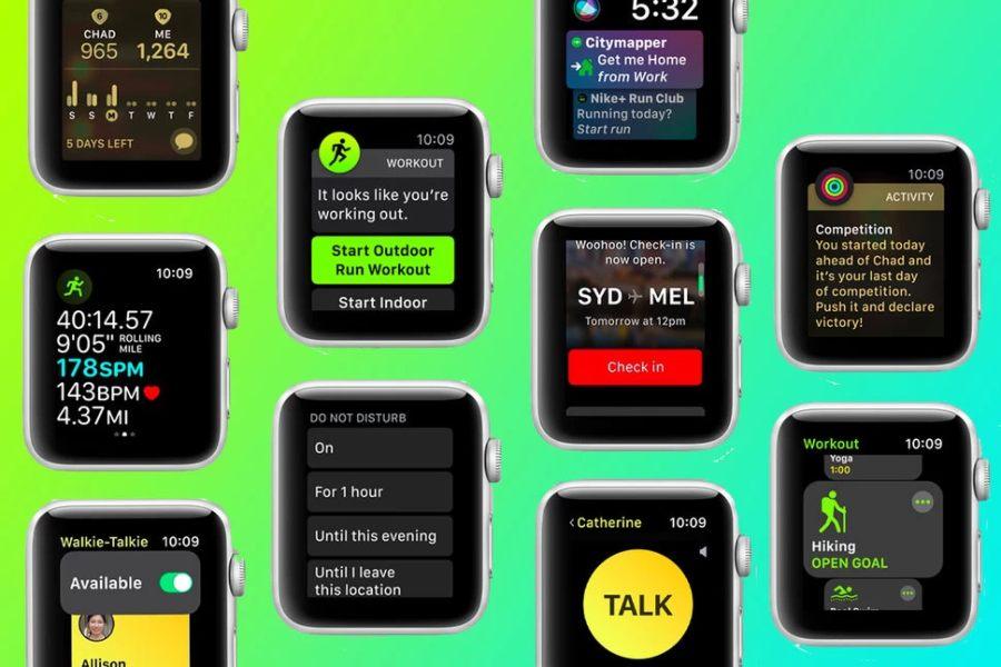 Walkie-Talkie de Apple Watch