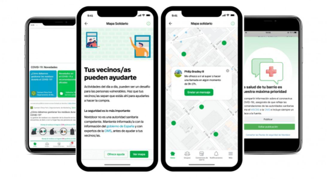 Mapa Solidario facilita el contacto de barrios en cuarentena