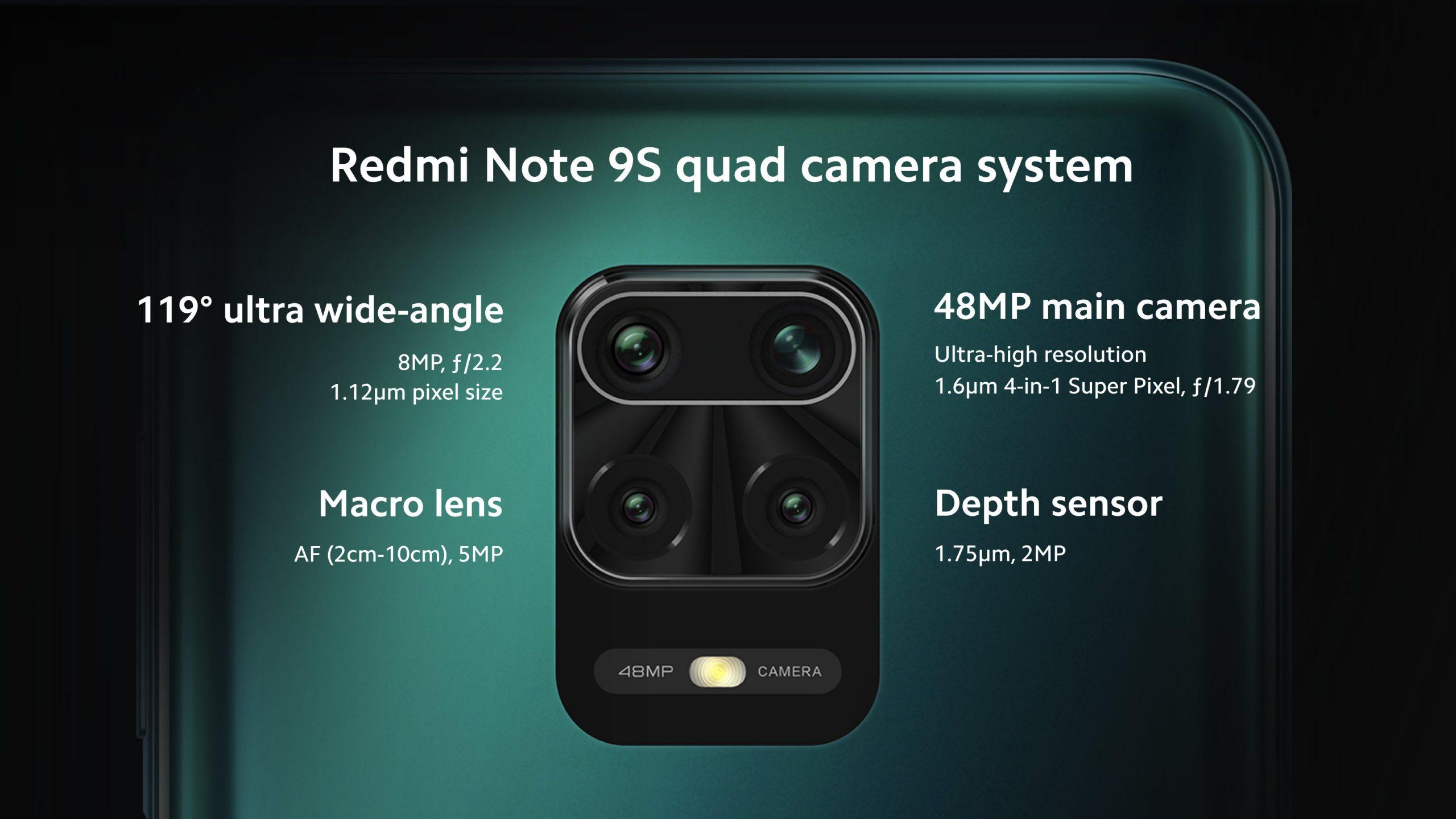 Redmi Note 9S oficial
