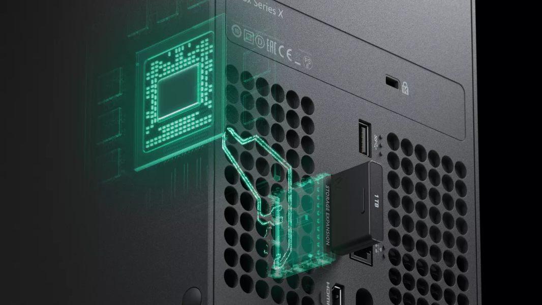 Xbox Series X especificaciones oficiales Almacenamiento extraíble