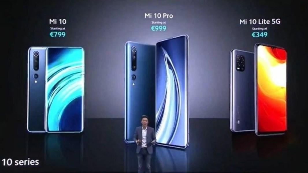 Xiaomi Mi 10 Lite 5G, Mi 10 y Mi 10 Pro globales