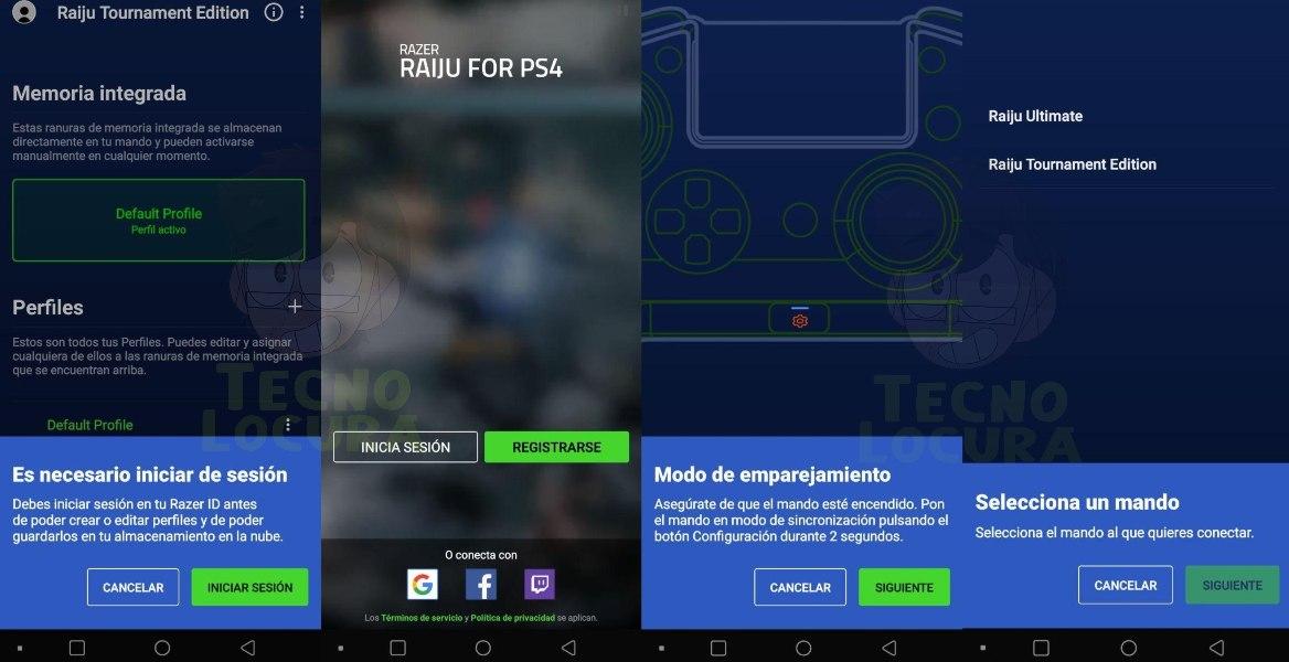 razer raiju ps4 app - tecnolocura