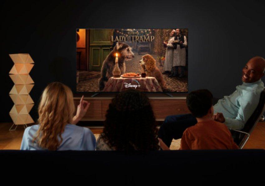Disney+ disponible en los televisores Sony