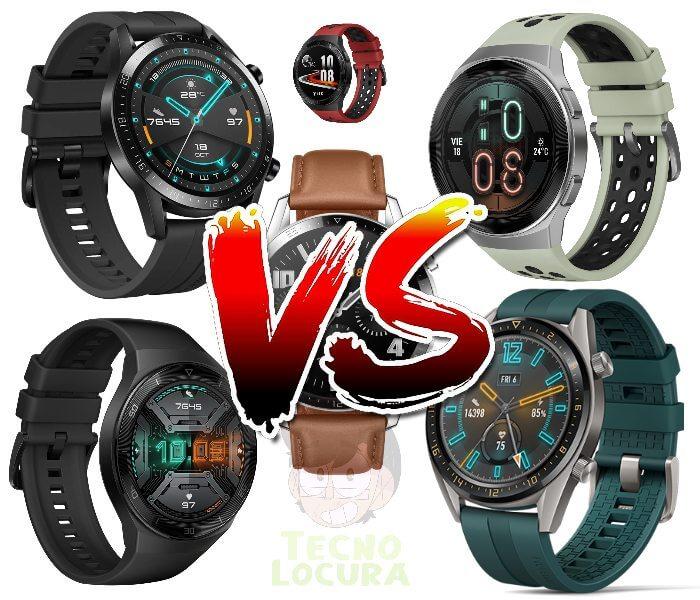 Huawei Watch GT2e VS Huawei Watch GT2