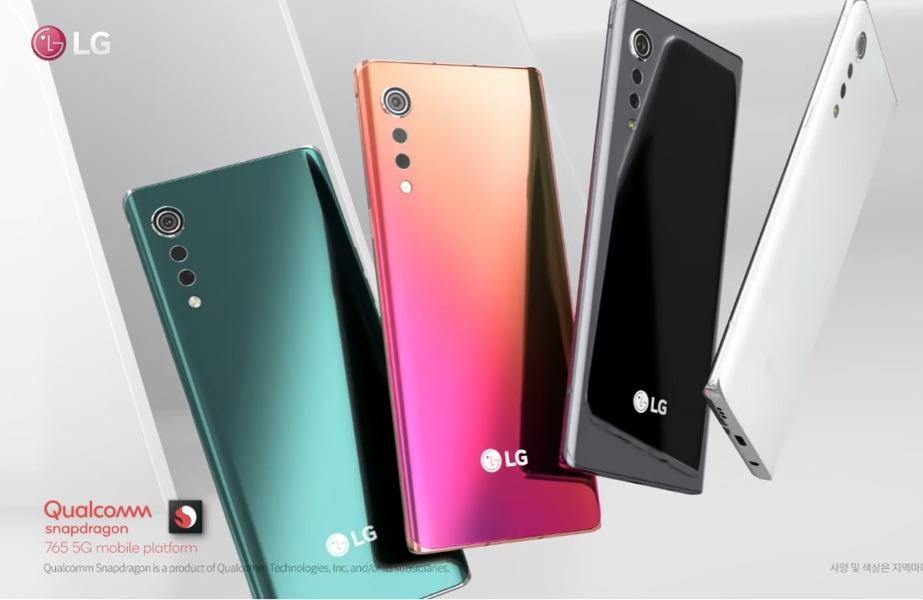 LG VELVET 5G Un concepto totalmente distinto