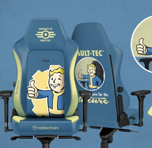 Noblechairs y Bethesda lanza edición exclusiva de sillas gaming