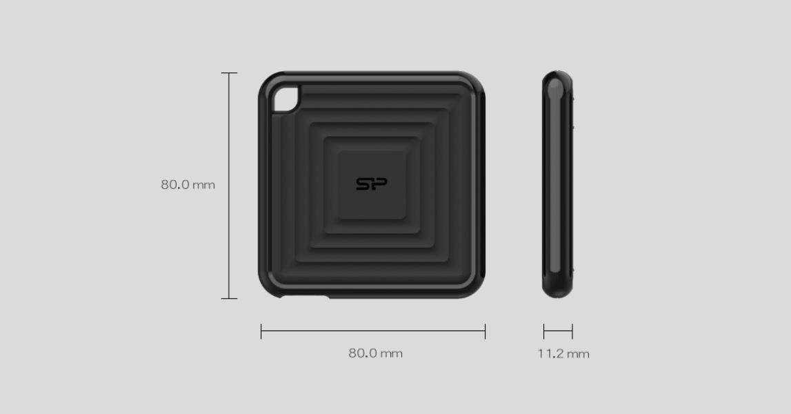 PC60 La SSD Portátil más compacta