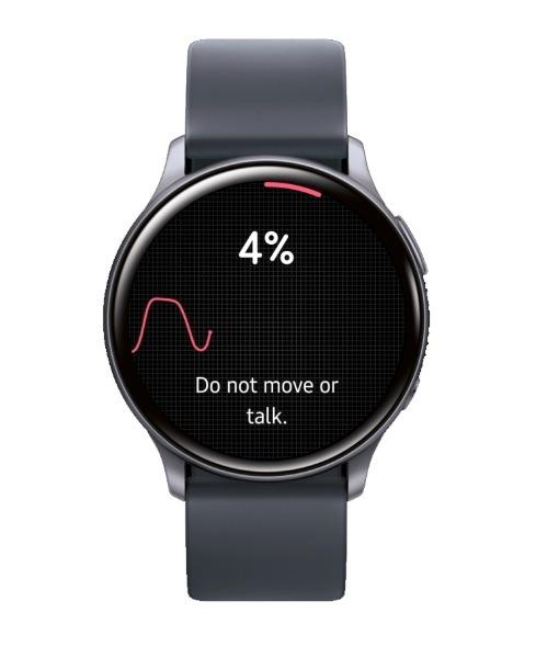 Samsung Health Galaxy Watch mide la presión arterial