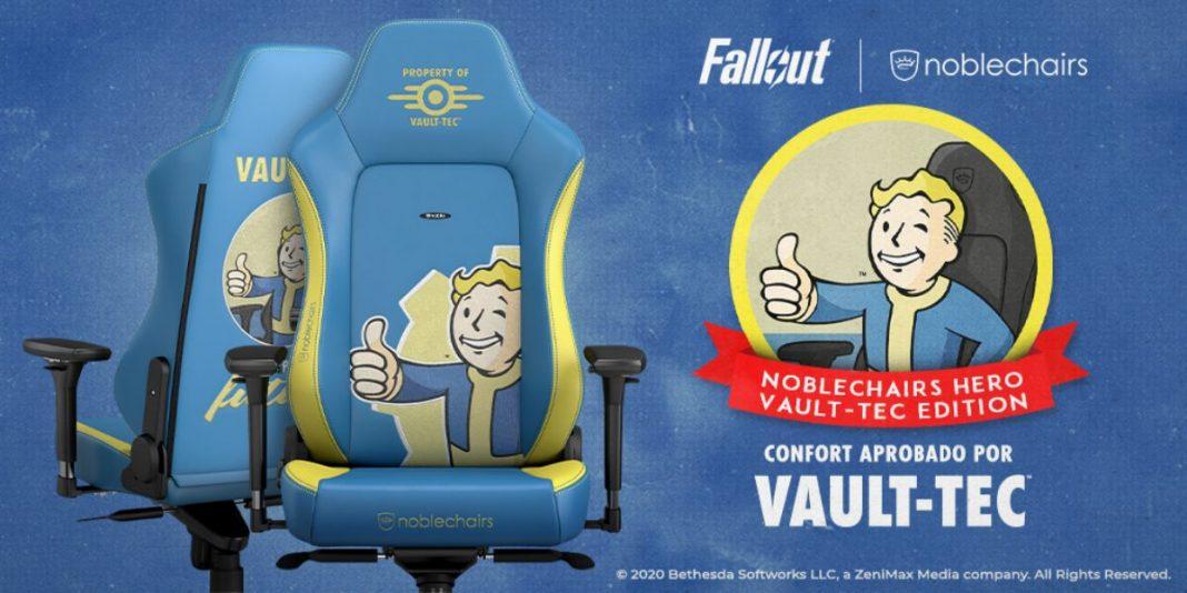 Fallout Vault-Tec Edition de noblechairs ya está a la venta