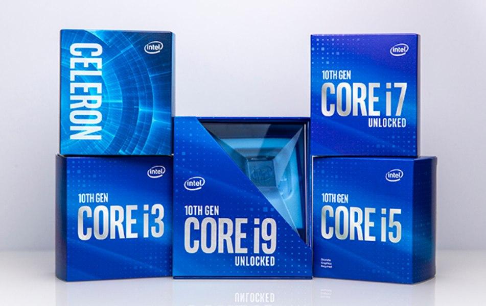 Intel 10th Gen Comet Lake con hasta 5.3GHz