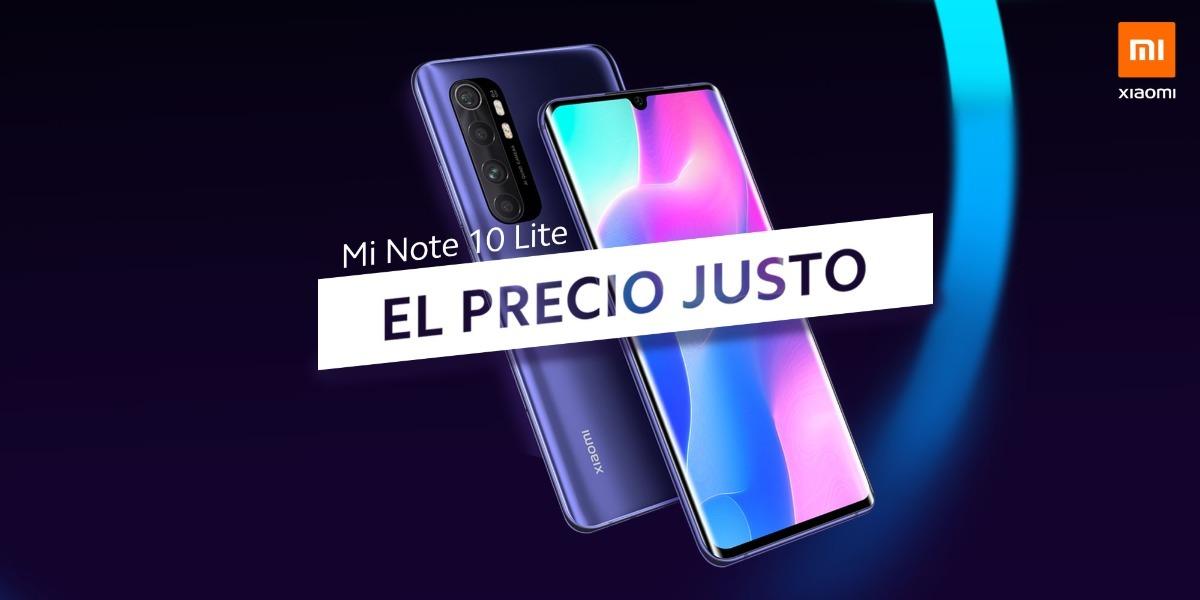 Xiaomi Mi Note 10 Lite llega a España con oferta