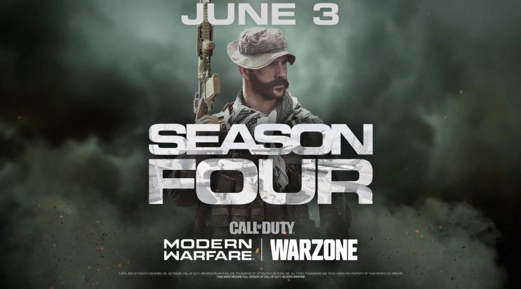 Call of Duty Warzone Season 4 y Warzone Modern Warfare fecha de lanzamiento