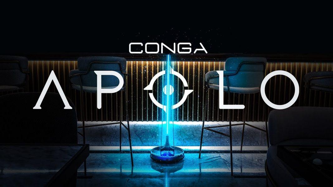 Conga Apolo, lucha contra el COVID-19 para garantizar espacios libres de virus al 99,9%