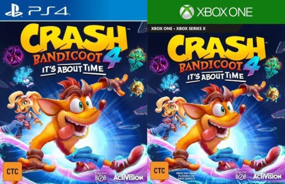 Crash Bandicoot 4 It's About Time filtrado