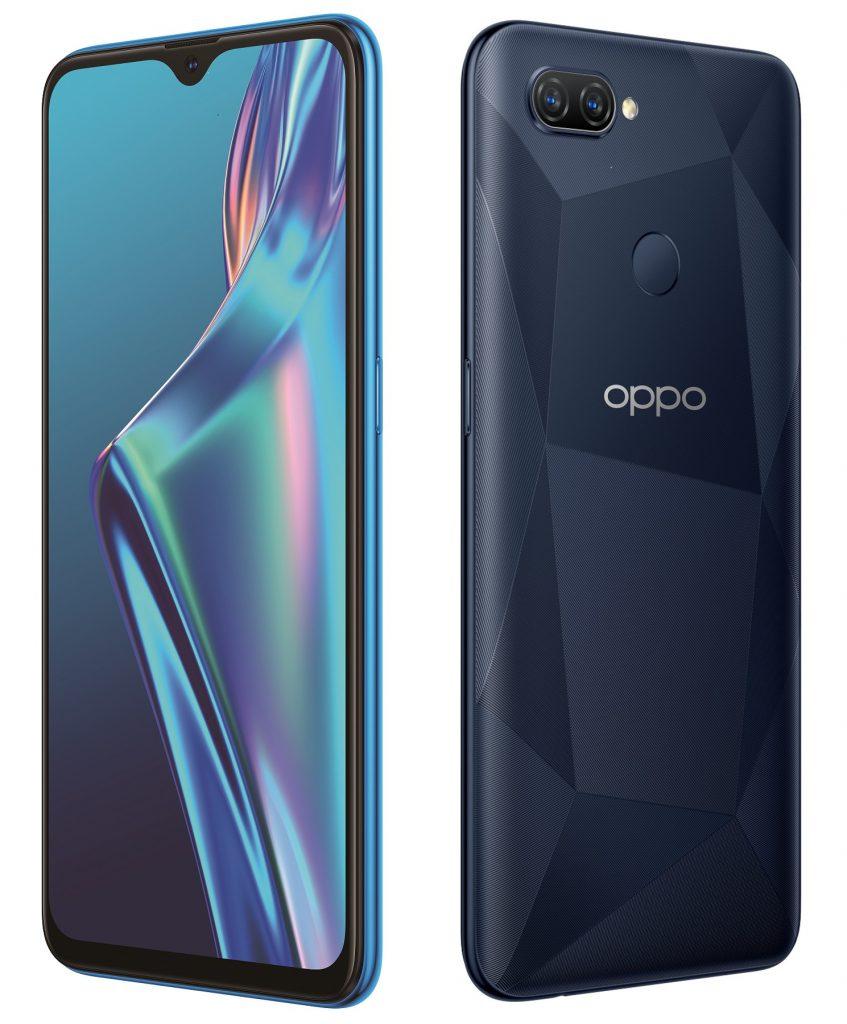 OPPO A12 con pantalla Waterdrop nos resulta familiar