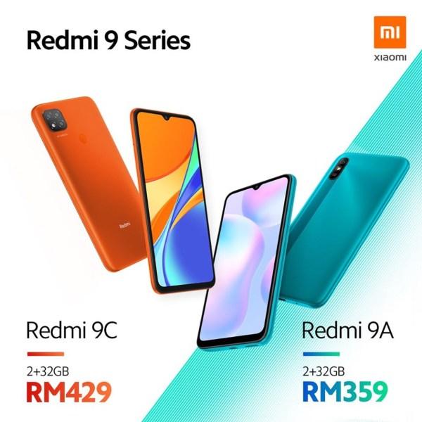 Redmi 9C y Redmi 9A otros dos nuevos modelos de la serie