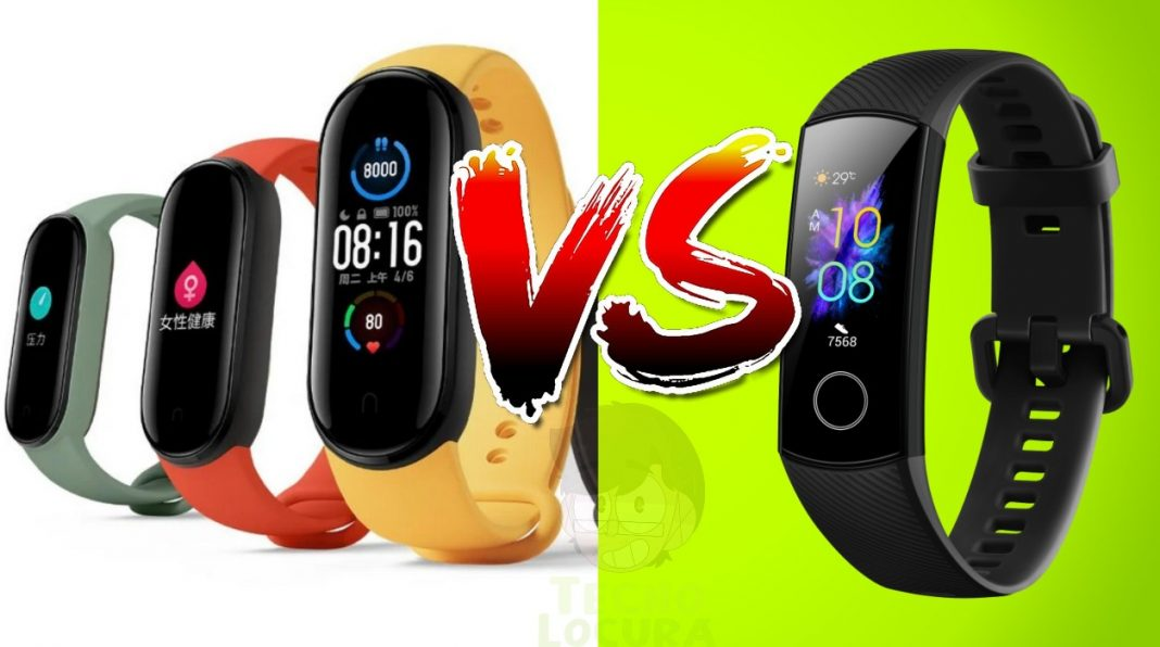 Xiaomi Mi Band 5 vs Honor Band 5