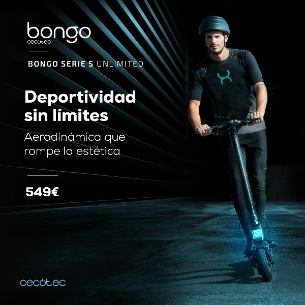 Cecotec Bongo Serie S Unlimited - tecnolocura