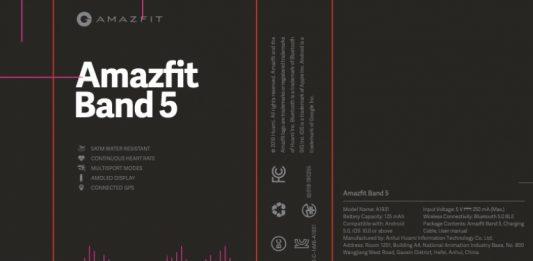 Amazfit Band 5 será una Xiaomi Mi Band 5 renombrada