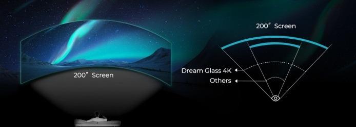Dream Glass 4K - tecnolocura