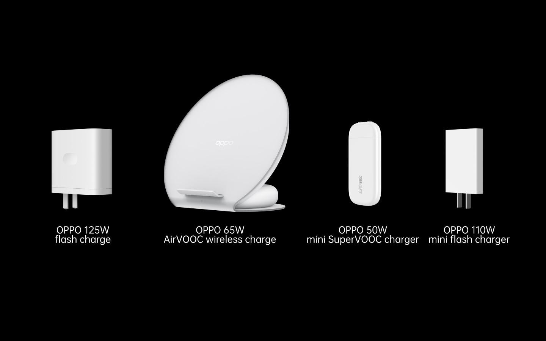 Oppo anuncia carga rápida de 125W más del 40% en solo 5 minutos