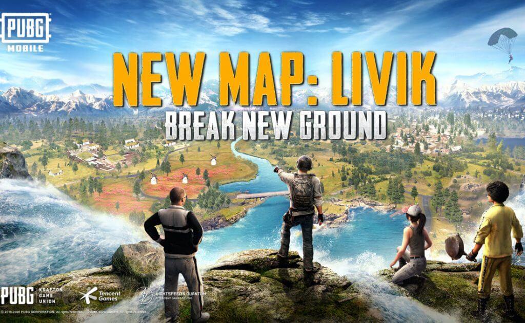 PUBG Mobile Nuevo mapa LIVIK y Royale Pass S14