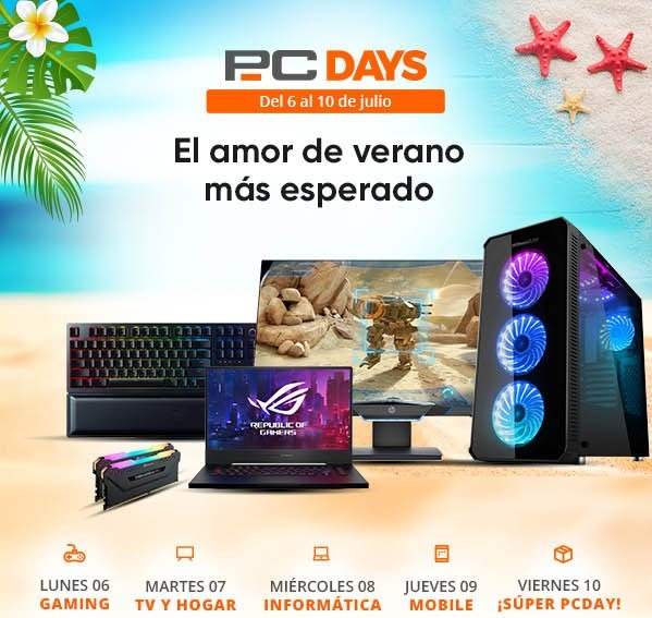 PcDays 2020 ¡Ofertones esta semana en PCComponentes!