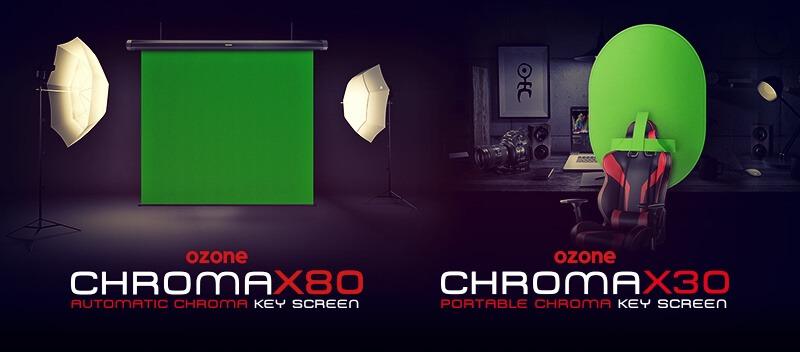 Sube la calidad profesional de tu stream con Chroma X30 y Chroma X80