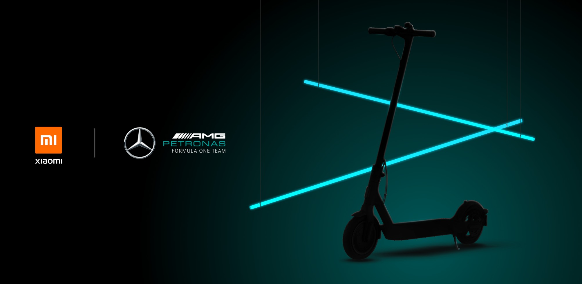Xiaomi Mi Electric Scooter Pro 2 Edición Especial Mercedes AMG Petronas F1
