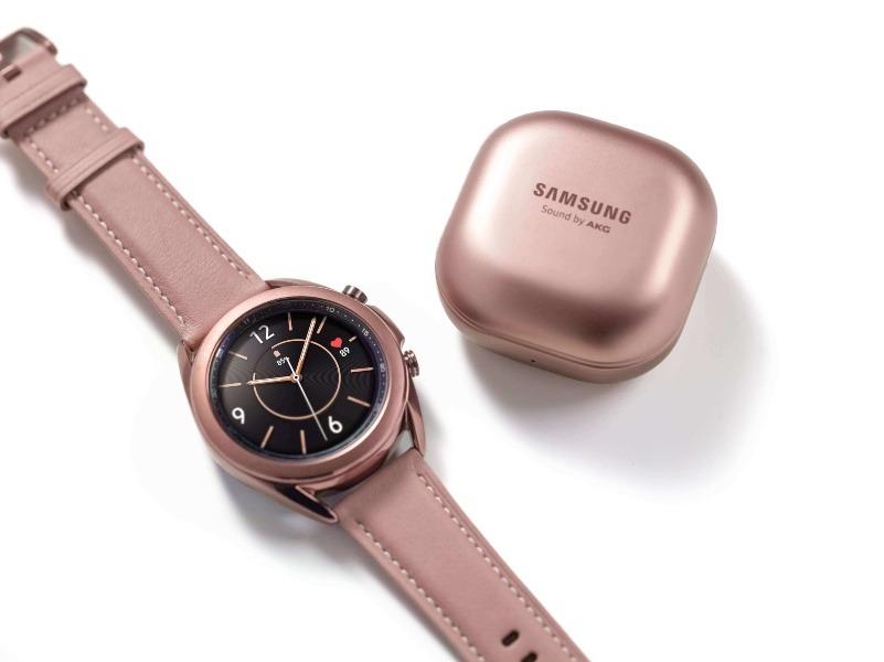 Samsung ha presentado los nuevos Galaxy Watch3 y Galaxy Buds Live