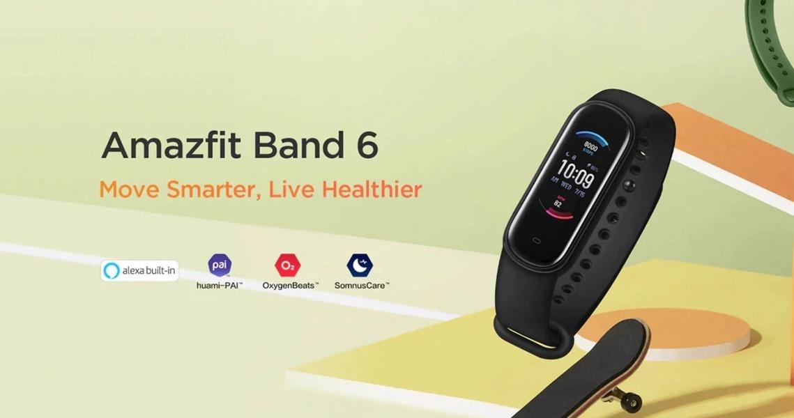 Amazfit Band 6 una Mi Band 5 mejorada, con lo poco que le faltaba