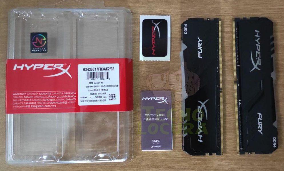 HyperX FURY DDR4 RGB review 🥇🥇🥇 Pack brutal ✔