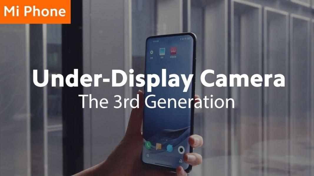 La cámara bajo pantalla ya es una realidad cercana