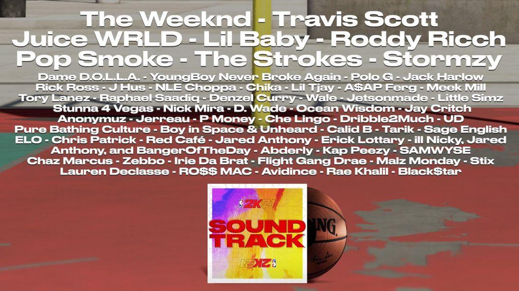 NBA 2K21 rompe moldes con la banda sonora definitiva