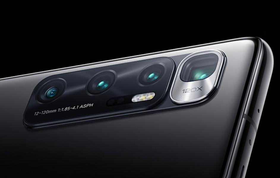 Xiaomi Mi 10 Ultra con zoom 120x