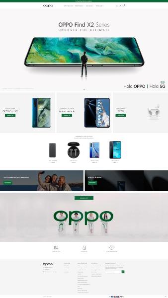 OPPO España abre su propio E-Commerce