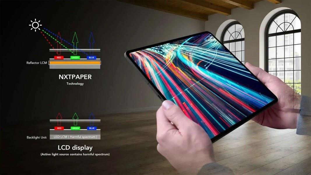 TCL NXTPAPER con nueva tecnología de visualización