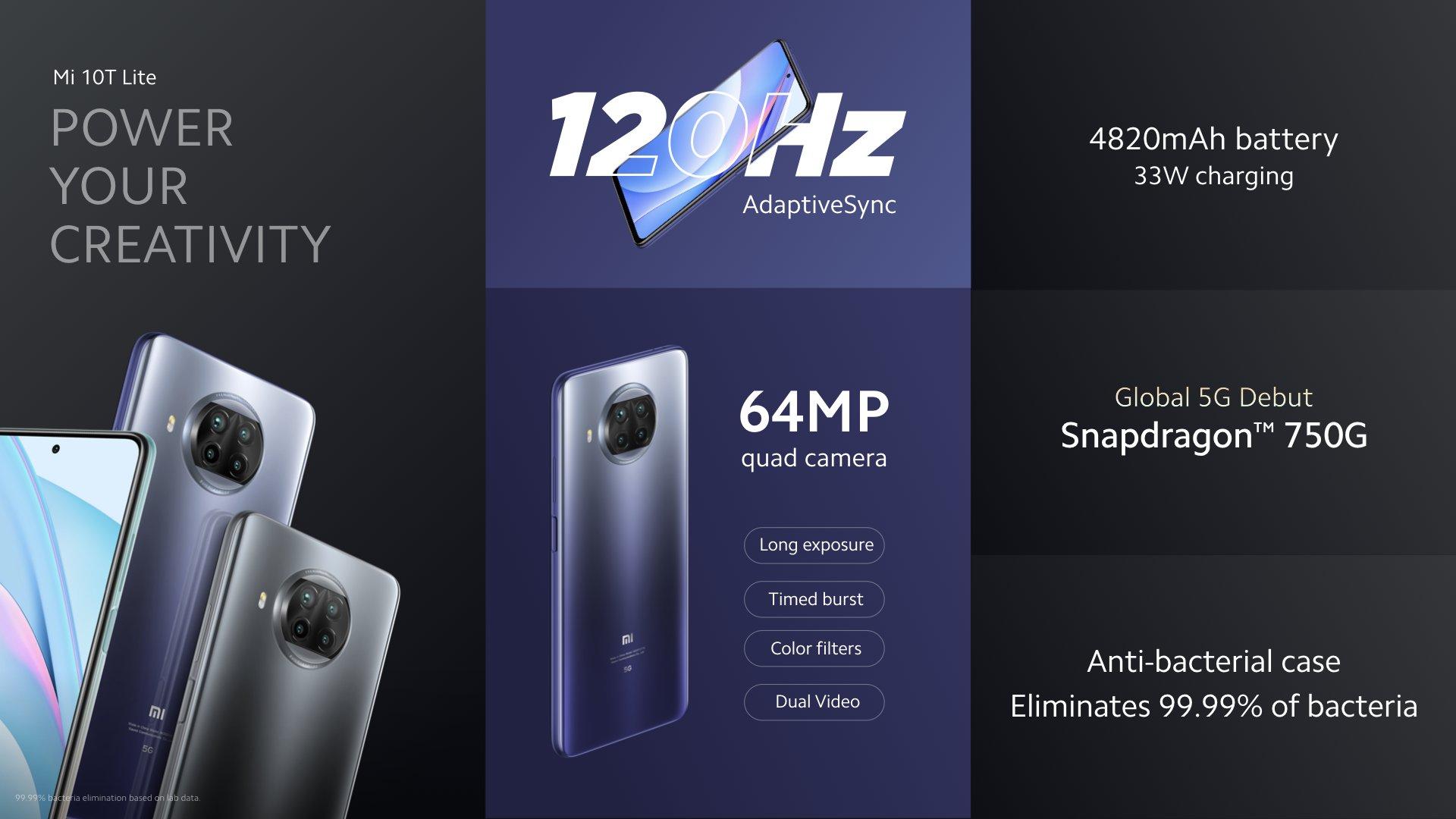 Xiaomi Mi 10T Lite ESPECS